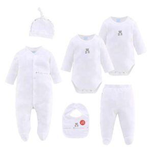Baby Gift Set 100%Cotton 6pcs