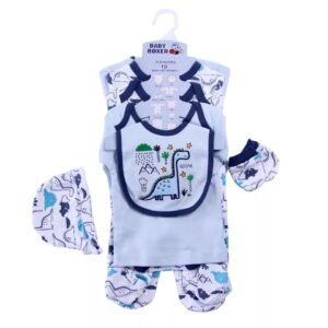 Baby Boy Gift Set 100%Cotton 8pcs