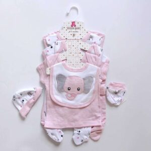 Baby Girl Gift Set 100%Cotton 8pcs