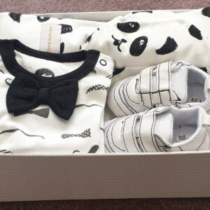 Baby Boy Gift Set 100%Cotton 4pcs