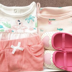 Baby Girl Gift Set 100%Cotton 4pcs
