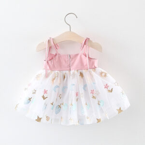 Formal Beautiful White Baby Girl Dress