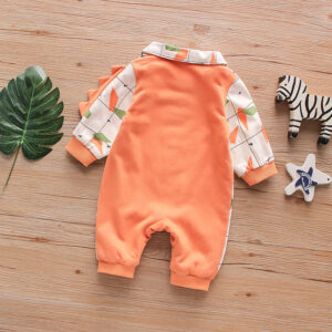 Baby Boy High Quality Warm Double Layer Romper