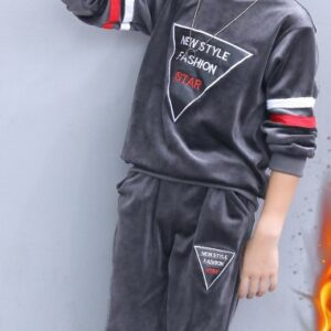 Boys Winter Tracksuit 2pcs set