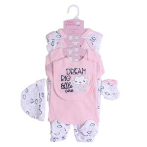 Baby Girl Gift Set 100%Cotton 8pcs (Copy)