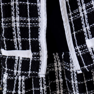 Girl Black 2pcs Dress and Jacket set