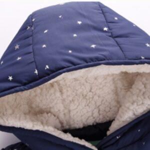 Girl Winter Warm Puffer Hooded Jacket