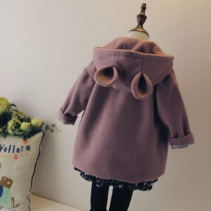 Girl Winter Warm Hooded Coat