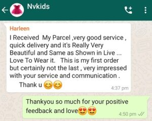 Kids clothes review from customer 1